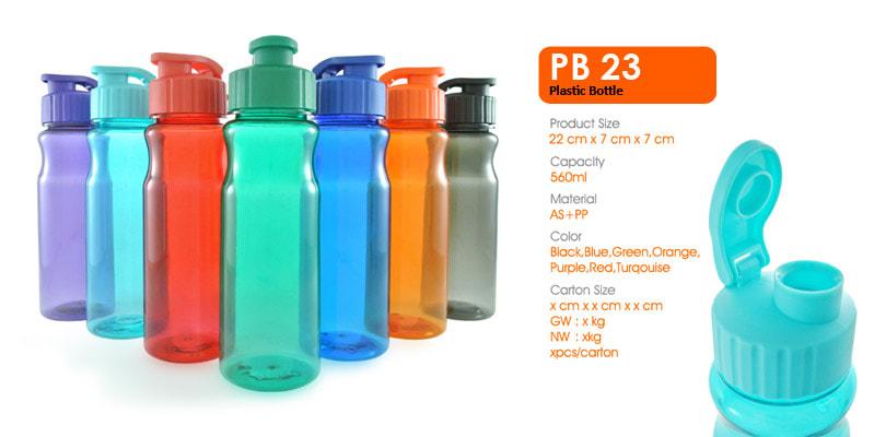 Tumbler Botol Plastik Infuse -  Vizeta   Supplier Merchandise & konveksi Perusahaan Tambang