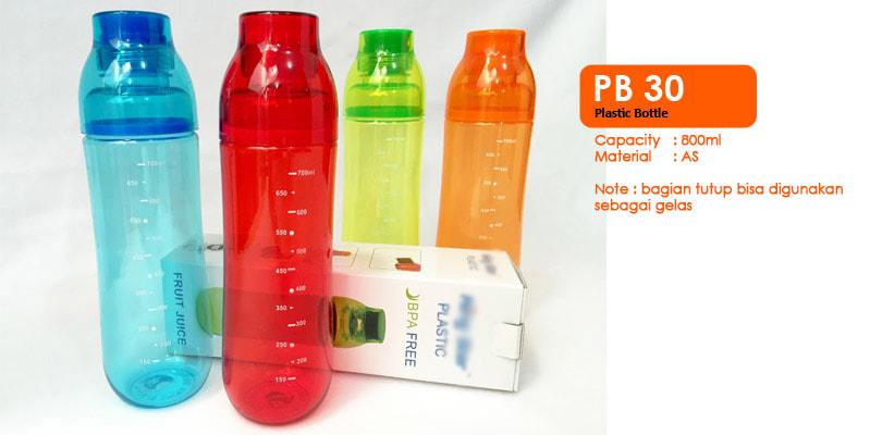 Tumbler Botol Plastik 800ml -  Vizeta | Supplier Merchandise & konveksi Perusahaan Tambang