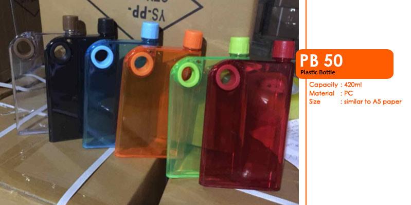 Tumbler Botol Plastik 420 ml -  Vizeta | Supplier Merchandise & konveksi Perusahaan Tambang