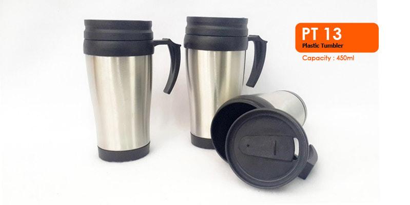 Tumbler Plastik 450 ml -  Vizeta | Supplier Merchandise & konveksi Perusahaan Tambang