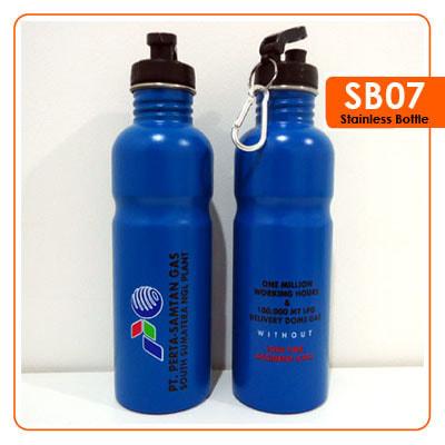 Tumbler Botol Stainless dengan cabiner 750 ml -  Vizeta | Supplier Merchandise & konveksi Perusahaan Tambang