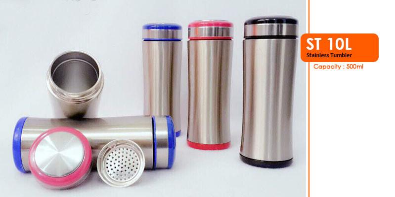 Tumbler Botol Stainless 500 ml -  Vizeta | Supplier Merchandise & konveksi Perusahaan Tambang